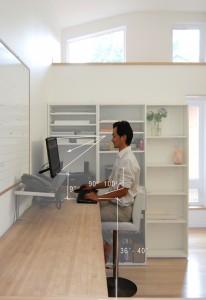 ergonomic office sitting-sandra leung