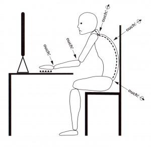 Computer posture tips